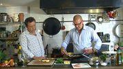 Les recettes de Gerald, les vins d'Eric : saumon sauces béarnaise et Choron