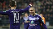Anderlecht s'offre un festival face à Mouscron