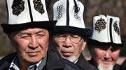 L'ak-kalpak, chapeau traditionnel kirghiz, distingué par l'Unesco