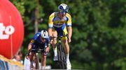 Tour de Belgique: Robbe Ghys remporte la 1re étape devant Evenepoel, leader grâce aux bonifs