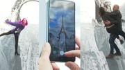 Spectaculaire: la tour Eiffel au bord du précipice comme si vous y étiez