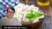 Recette de triangles à la feta selon Carlo à 6,09 euros