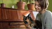 Découvrez ce moment hyper tendre entre un chat et un pianiste fait l'un pour l'autre