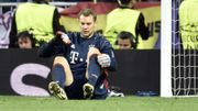 Neuer a fini le match face au Real avec le pied fracturé, sa saison est terminée