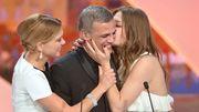 """Cannes: """"La vie d'Adèle"""" de Kechiche, coproduction belge, Palme d'Or"""