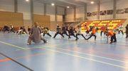 Les maîtres du Kung-Fu, les moines Shaolin, en visite à Lessines