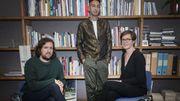 Dries Douibi,Daniel Blanga Gubbay  et Sophie Alexandre directeurs du KFDA