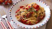 Recette: One pot pasta au chorizo et poivrons