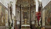 vue de l'autel de l'église abbatiale, Comme l'éclair. 900 ans de Norbertins'