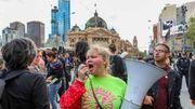 Climat: plusieurs arrestations en Australie au 2e jour de la semaine de désobéissance civile