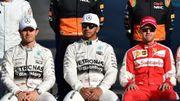 Rosberg, Hamilton, Vettel, trois pilotes pour un titre