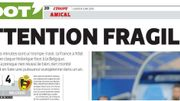 Capture d'écran de l'article de L'Equipe