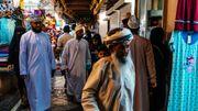 Le souk traditionnel de Muscat prisé par les touristes et les locaux.