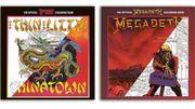 Des livres de coloriages Megadeth et Thin Lizzy