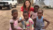 Joëlle Scoriels à la rencontre des malades de la lèpre et de la tuberculose pour Père Damien