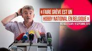 """Jérémy : """"En Belgique, faire grève n'est pas un hobby mais une tradition !"""""""