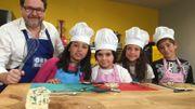 Les asperges au Roquefort, les enfants adorent !