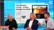 """""""Saoul comme un Belge""""... Nous sommes champion du monde !"""