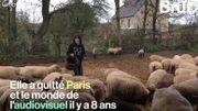 """""""C'est une sorte de libération"""": elle quitte Paris pour devenir éleveuse à la campagne"""