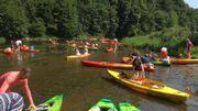 Une descente en kayak sur la Semois! C'est un incontournable