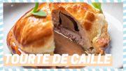 Tuto du chef: Mini tourte de caille au foie gras