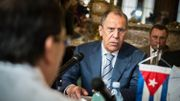 """Sergueï Lavrov : """"Nous n'allons pas nous précipiter pour faire des choses stupides, nous voulons donner à nos partenaires la possibilité de se calmer."""""""