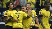 Dortmund prend d'entrée les commandes, Witsel régale avec deux assists