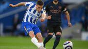 Leandro Trossard, buteur, aide Brighton à renverser le champion Manchester City