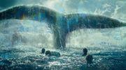 """L'affiche du film """"Au coeur de l'Océan"""", inspiré de """"La véritable histoire de Moby Dick"""" de Nathaniel Philbrick"""