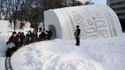 Festival de la neige... sans neige, à Sapporo