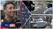 Apprenez le français avec Ricciardo, la safety car à sec, 20 000 personnes..en terrasse...La F1 à Monaco