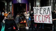 L'Opéra de Lyon est occupé par des étudiants qui réclament la réouverture des lieux culturels
