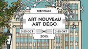 Franc succès pour la 8e édition de la Biennale Art nouveau et Art Déco à Bruxelles