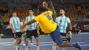 Physique hors-norme, comparé au Shaq, Gauthier Mvumbi fait sensation au mondial de handball