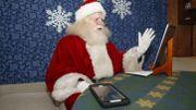 Coronavirus, le Père Noël troque le traîneau pour la visio