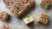 Recette : Gâteau pistaches et pomme de terre