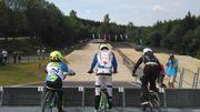Inauguration d'une piste BMX à la Baraque de Fraiture