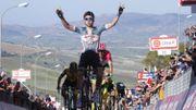 Wellens vainqueur en costaud de la 4e étape du Giro à Caltagirone
