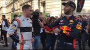 La Formule 1 fait le spectacle dans les rues de Londres