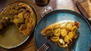 Tarte tatin aux poireaux végan : les recettes d'iritchka, l'activiste de la bonne bouffe du Sud
