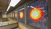 Quand l'art s'invite dans le métro bruxellois