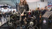 Milan, salon moto glamour !