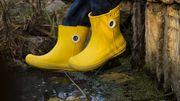 Les bottes de pluie se métamorphosent en ugly shoes pour la rentrée