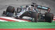 Lewis Hamilton devant Sebastian Vettel aux essais libres 1 du Grand Prix d'Autriche