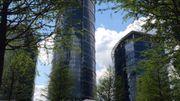 La tour Spire de Varsovie construite par le promoteur belge Ghelamco.