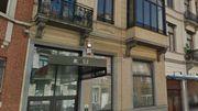 Le 43 rue Navez, où a habité René Magritte entre 1919 et 1922.