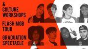 Le spectacle de clôture de la K-Pop Academy à BOZAR