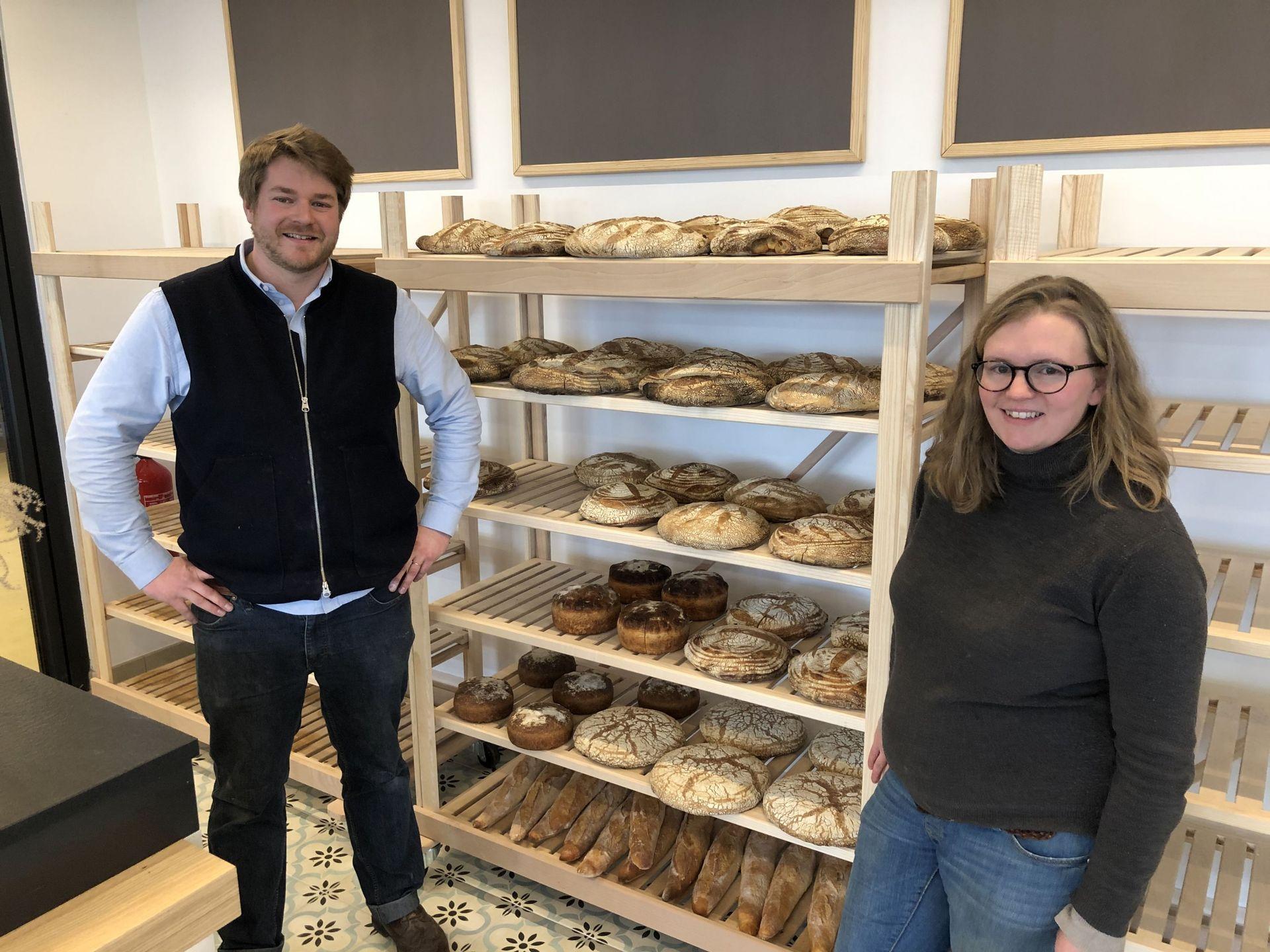 Du producteur au consommateur : deux agriculteurs lancent une boulangerie bio à Wanze (Boulangépicerie Champain)