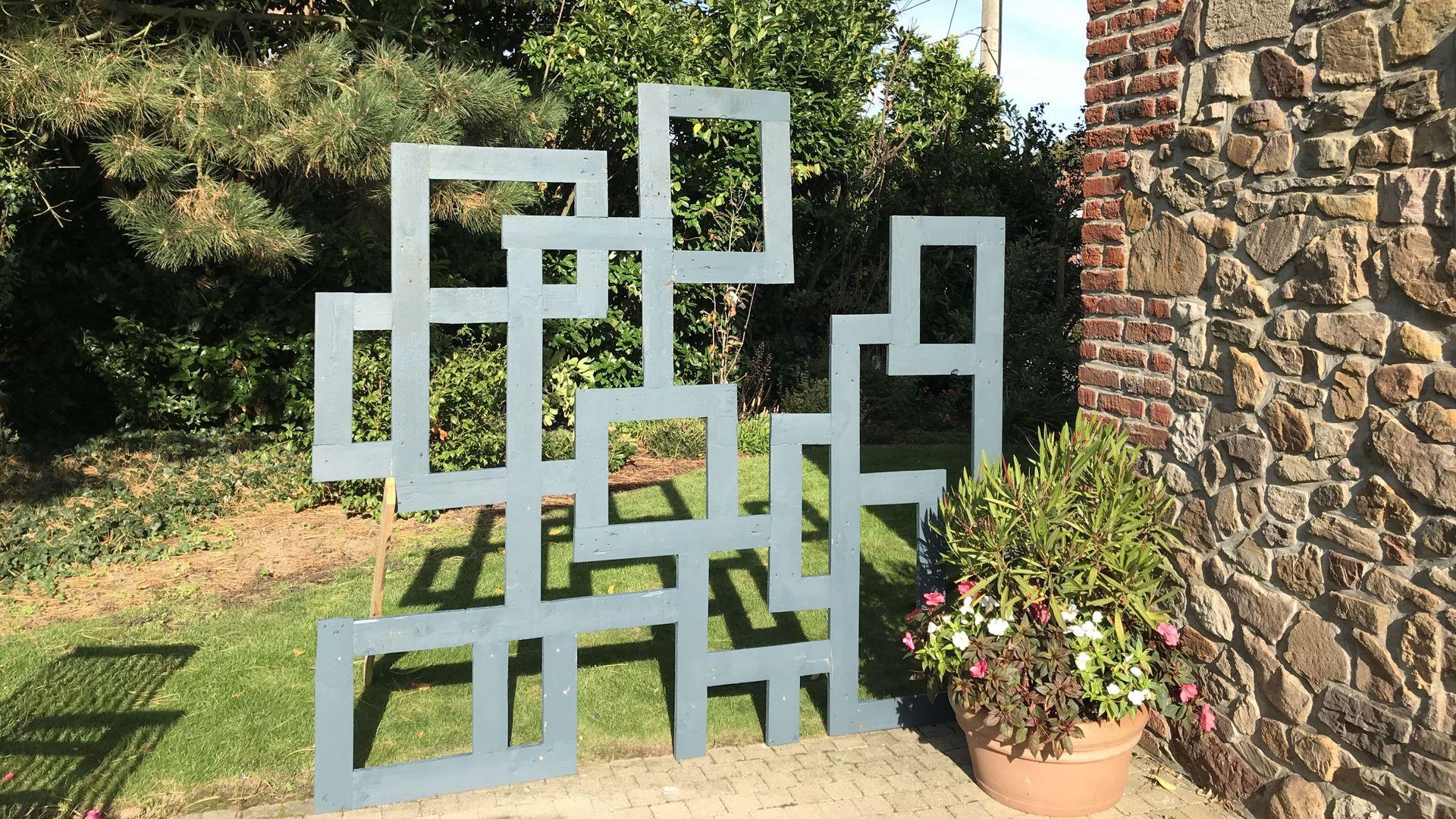Fabriquer Un Claustra Bois tuto : fabriquez un claustra décoratif pour votre jardin ou