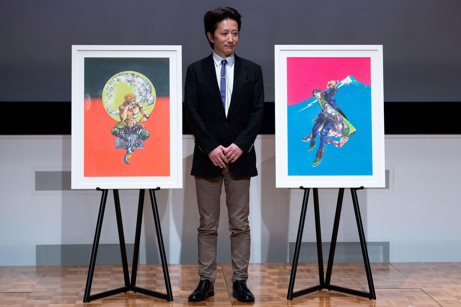 Après le Louvre, le mangaka Hirohiko Araki s'offre une place au ...